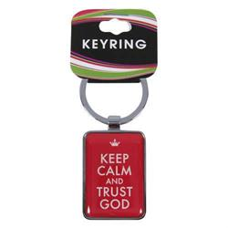 Keep Calm Keyring