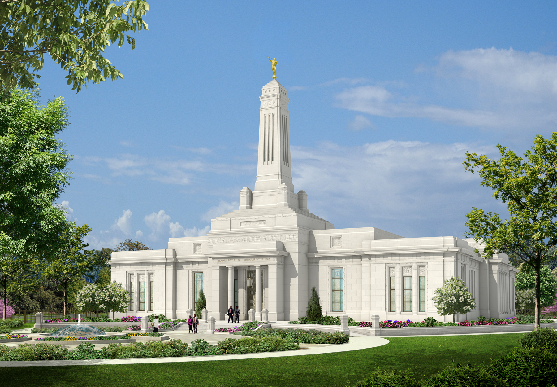 Open House Begins for the Indianapolis Indiana Temple ...