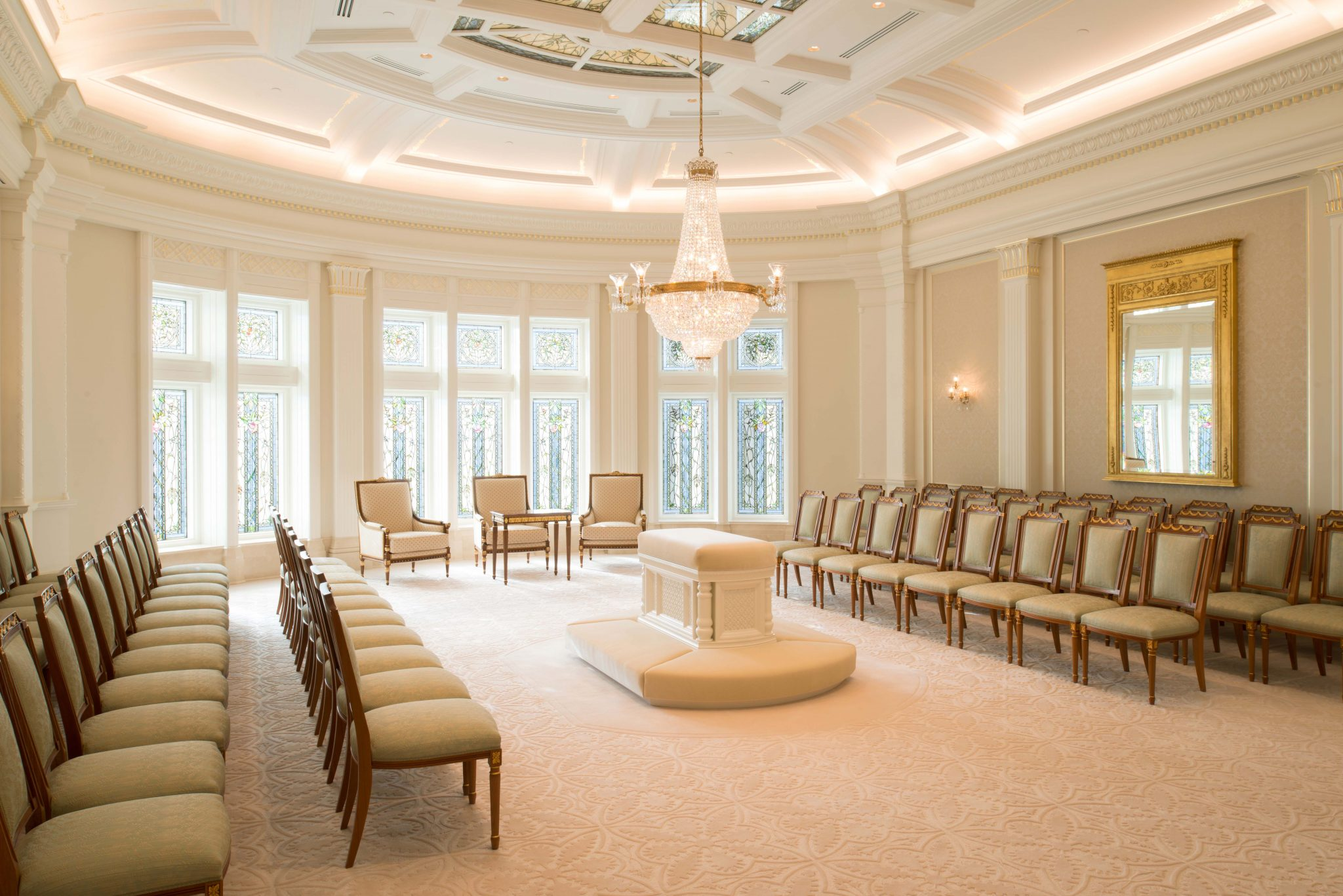 Photos First Look Inside The Payson Utah Temple Lds Daily