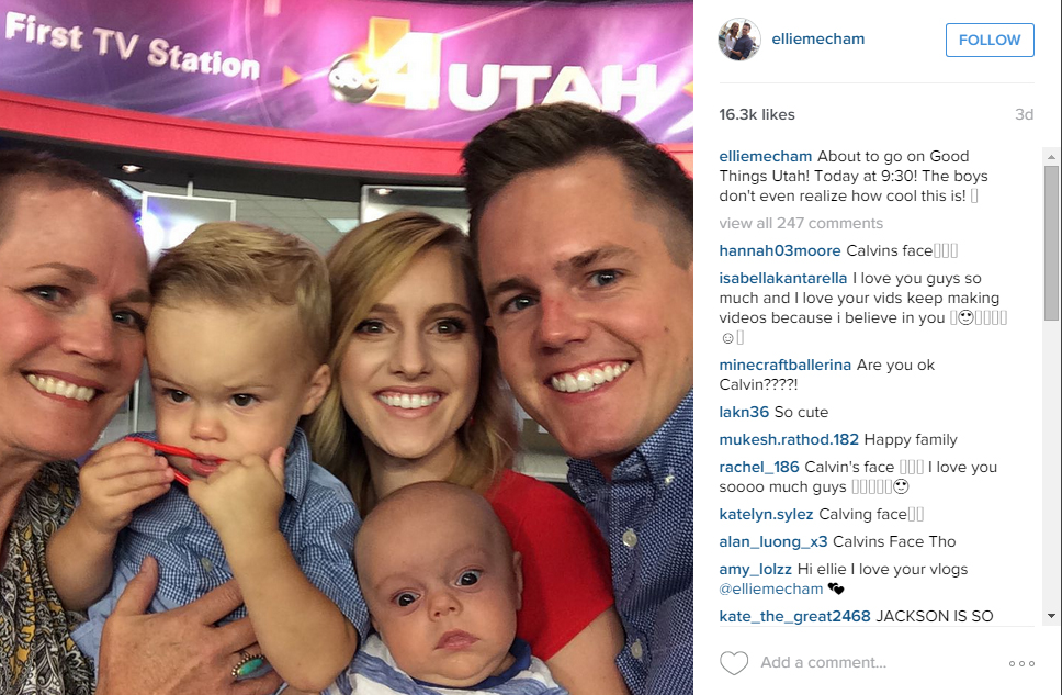 You won 39 t want to miss these 12 lds celeb posts from this for Ellie and jared