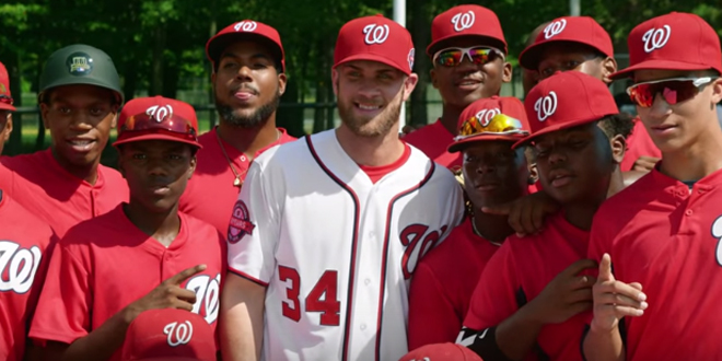 Bryce Harper's Epic Surprise to Young Baseball Players