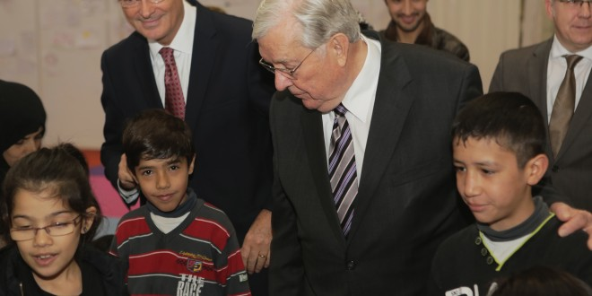 Watch Elder M. Russell Ballard Meet Syrian Refugees in Europe