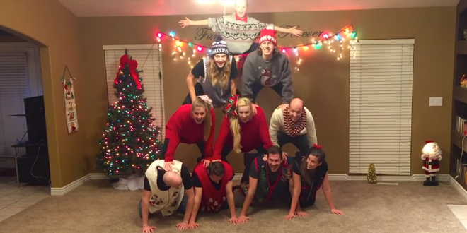 8 LDS Siblings Go Viral With Family Christmas Video | LDS Daily