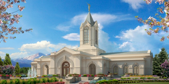Open House and Dedication Dates Announced for Fort Collins Colorado Temple