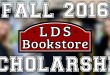 LDSBookstore.com Opens 2016 Scholarship Applications