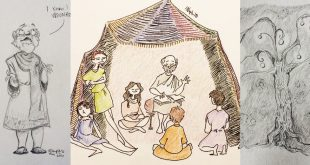 10 Beautiful Sketches Straight from Book of Mormon Scripture Study
