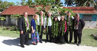 Elder Neil L. Andersen and other Church Leaders Visit Cook Islands