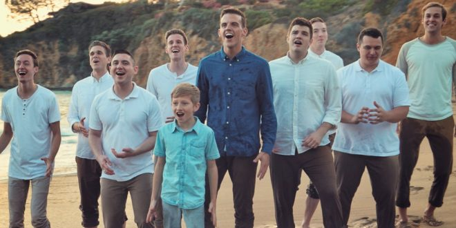 """BYU Vocal Point Covers """"Go the Distance"""" from Hercules"""