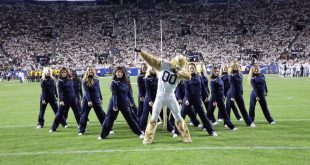 Have You Seen This Viral Dance Video from BYU's Mascot?