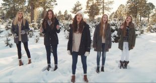 "5 LDS Sisters Sing ""Angels We Have Heard On High"""