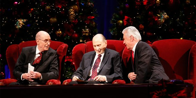 Messages of Christ's Birth Shared at First Presidency's Christmas Devotional