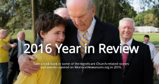 Mormon Newsroom's 2016 Year in Review