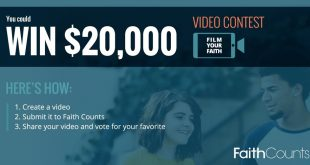 Film Your Faith and You Could Win $20,000