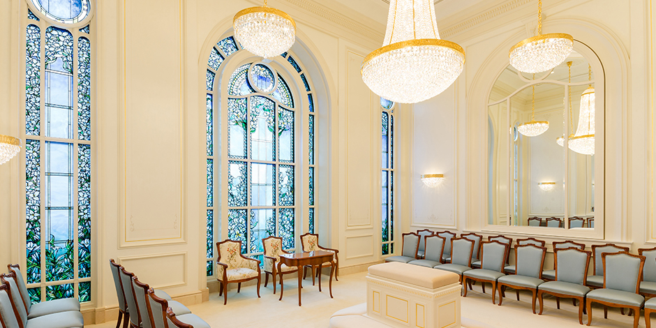 Here S The First Look Inside The Paris France Temple Lds