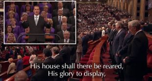 Why There Were No Hymn Lyrics During General Conference