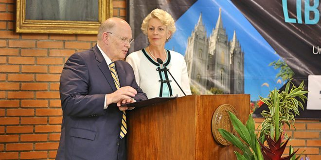 Elder Dale G. Renlund Speaks at International Religious Freedom Symposium