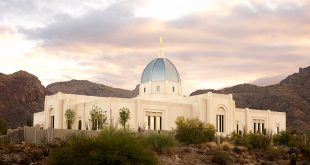 The LDS Tucson Arizona Temple Is Dedicated
