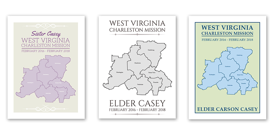 personalized lds mission maps