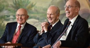 New LDS First Presidency Holds News Conference