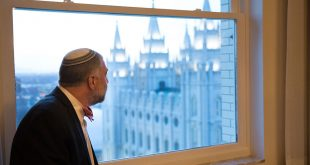Jewish Leaders Tour Church Welfare Operations and Mormon Temple