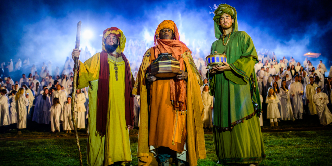World's Largest Nativity - The Piano Guys