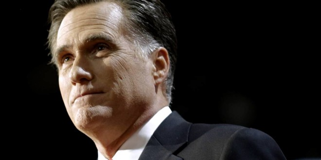 Mitt Romney Won't Run in 2016