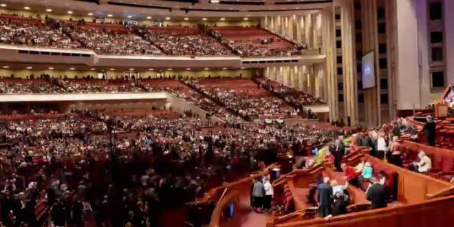 General Conference Time Lapse Video