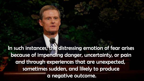 Distressing Emotion of Fear