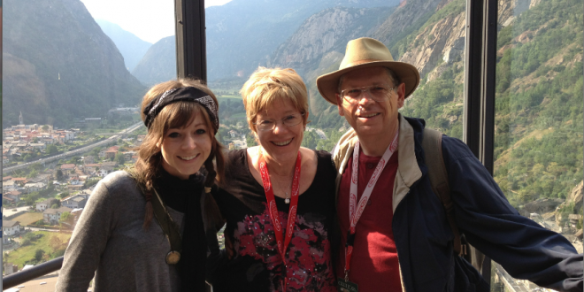 """""""Forget the Dress"""" - Lindsey Stirling's Father Weighs in On Billboard Dress Incident"""