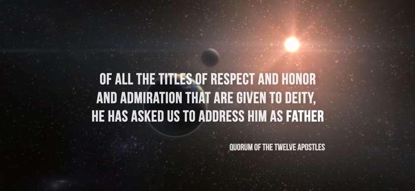 Address Him As Father