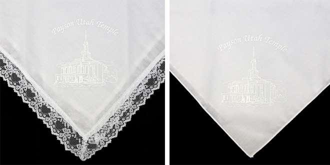 Payson Temple Handkerchiefs