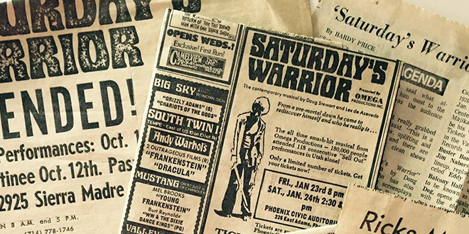 Saturday's Warrior Coming to the Big Screen in 2016