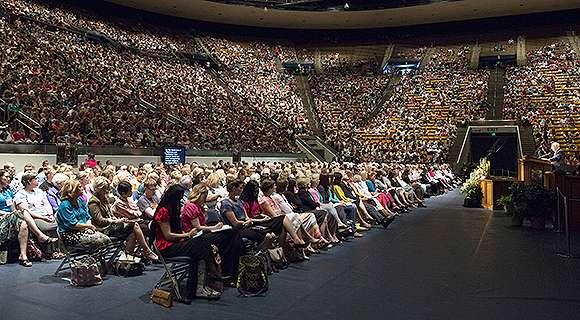 Sister Oscarson, Elder Ballard Speak at Women's Conference
