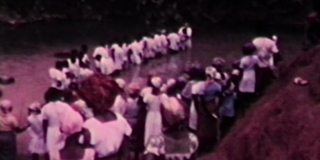 Rare Footage Surfaces Of Historic Baptisms In Nigeria