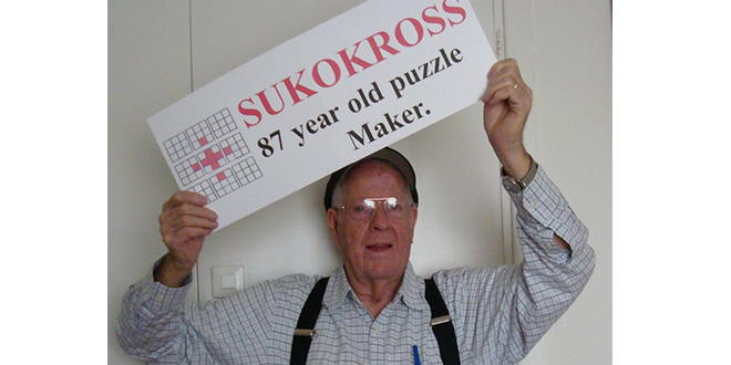 87-Year-Old Mormon Man Creates Sudoku Hybrid Puzzle