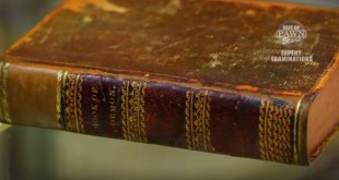 $40,000 Copy of Book of Mormon Featured on Pawn Stars