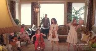 """Jenny Oaks Baker & Family Perform """"Love Is Spoken Here"""""""