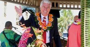 President Uchtdorf Dedicates New Addition to Church's Polynesian Cultural Center in Hawaii