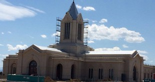 Vandals Damage Fort Collins Colorado Temple Construction Site