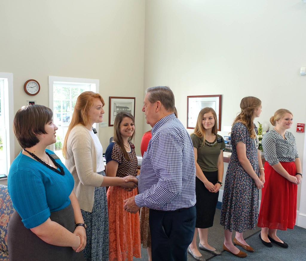 Elder Holland visits Historic Kirtland