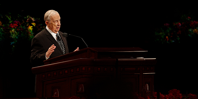 Funeral Services Scheduled on Temple Square for Elder Scott