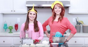 Lindsey Stirling Co-Hosts Episode of Hit YouTube Baking Show