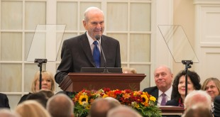 President Nelson Dedicates Priesthood Restoration Site