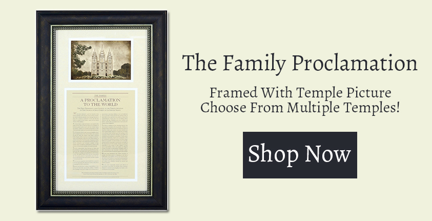 The Family Proclamation Ad