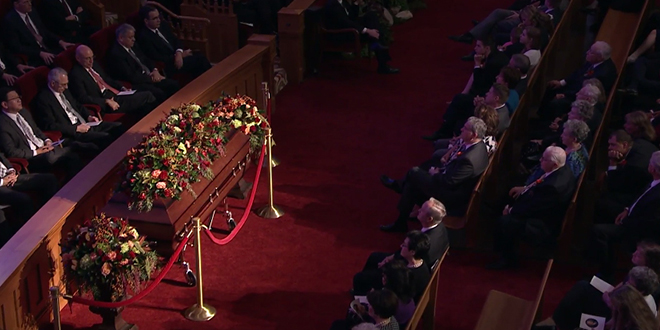 PHOTO GALLERY + RECAP: Elder Richard G. Scott's Funeral