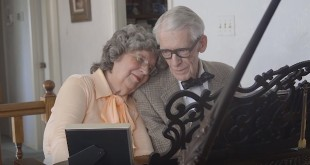"""80-Year Old Grandparents Celebrate Anniversary with """"UP"""" Duet"""
