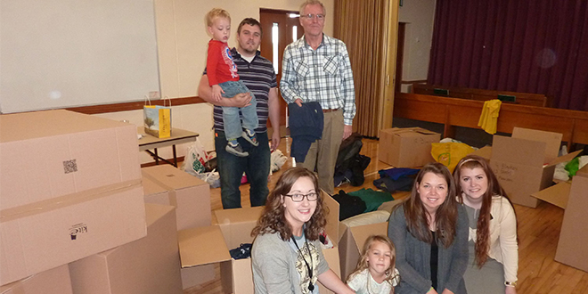 LDS Congregation in UK Offers Relief and Support to Refugees
