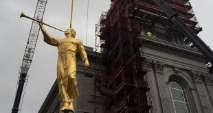 Philadelphia Pennsylvania Temple Places Angel Moroni Statue
