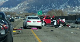 LDS Man Administers Priesthood Blessing to Car Crash Victim