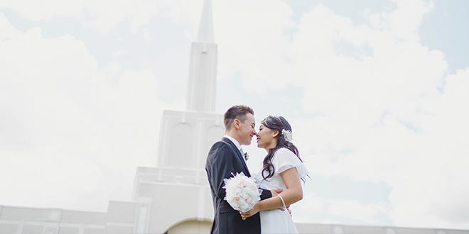 Mormon Newsroom Article Introduces Ontario Man to Future Wife